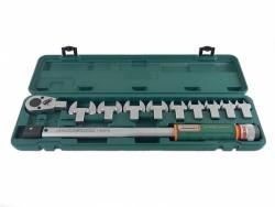 Klucz dynamometryczny 40-200Nm z wymiennymi końcówkami T102001S