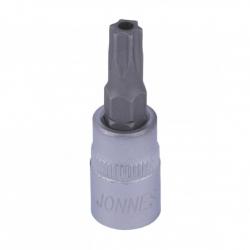 Klucz wpustowy (nasadka) 1/4'' Torx z otworem Jonnesway