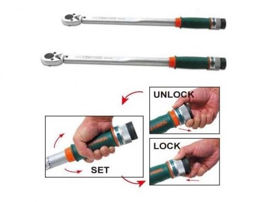 Klucz dynamometryczny  3/4&#34  140-700  Nm Jonnesway