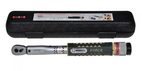 Klucz dynamometryczny  1/4&#34 6-30 Nm Force