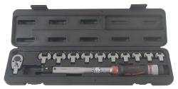 Klucz dynamometryczny 20-110Nm z wymiennymi końcówkami Force