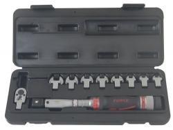 Klucz dynamometryczny  6-30Nm z wymiennymi końcówkami Force