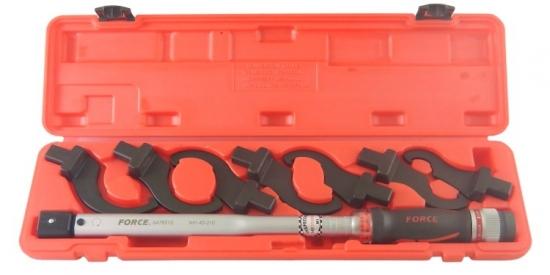 Klucz dynamometryczny 40-210Nm z końcówkami hakowymi Force