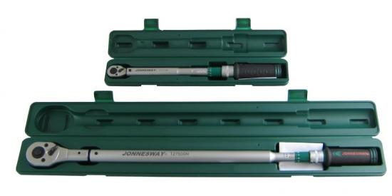 Zestaw 2 kluczy dynamometrycznych 20 - 500Nm Jonnesway T27