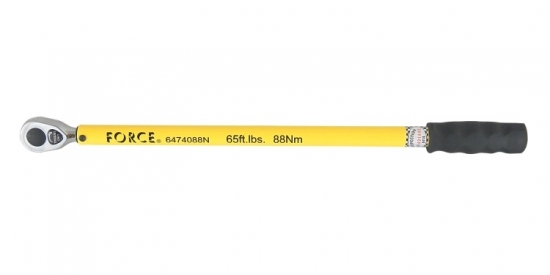 """Klucz dynamometryczny 1/2""""  88Nm Force"""