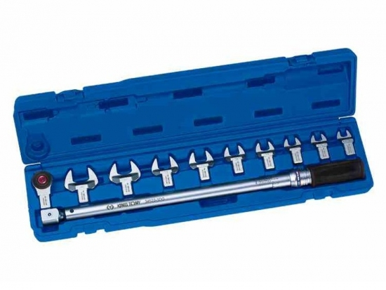 Klucz dynamometryczny 60-340Nm z wymiennymi końcówkami King Tony