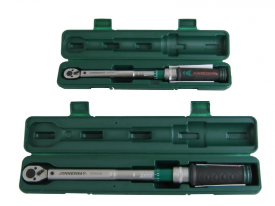 Zestaw 2 kluczy dynamometrycznych 4,5 - 100Nm Jonnesway T27